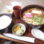 Airisu - カレーうどん定食 750円