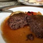 メープル - 肉々しいハンバーグ