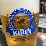杉乃家 - 生ビール(一番搾り)中