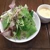 Youshokutowainnoomisetsukushien - 料理写真:サラダ、スープ