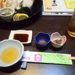 かに通 - 小鉢 蟹味噌