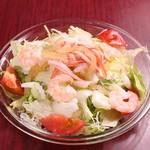 中華料理 大黒 - 海鮮サラダ