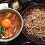 74266537 - 付けキムチカレー蕎麦