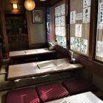 地酒と和食の店 戸塚はしごや - 座敷