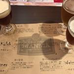 MANMA - 飲みくらべセット(アルト/ブナの森/桜こまち)