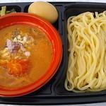 癒庵 - 【とろ~りチーズと完熟トマトのつけ麺 + 半熟味玉】¥900 + ¥100