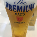 サントリー 京都ビール工場 - ドリンク写真:一杯目はプレミアムモルツ☆★★☆