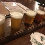 プラッツ - ビールおためし5種