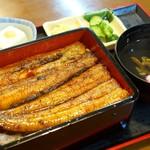 橋本食堂 - 2017年8月 鰻重(上)【2200円】