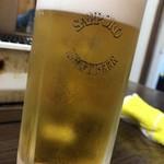ホルモン焼 やしま - 生ビール