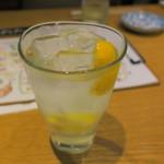 藁焼きと四国料理88屋 - 瀬戸内生レモンサワー