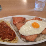 レストラン泉屋 - ポークスペシャルライス 820円