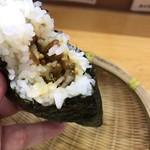にぎりめし - 三升漬け納豆