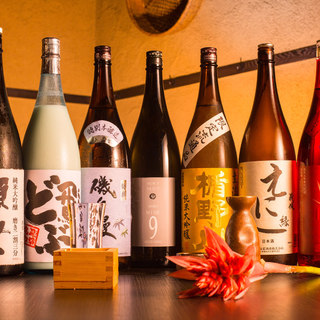 厳選♪日本酒-常時60種以上!!