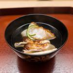 74274563 - お椀 焼き松茸と焼きアラ