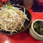 おーくら家 - 2017年9月 チャーシュー飯 250円