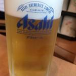 いかめしや 烹鱗 - 生ビール
