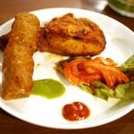 インド料理 ムンバイ - タンドリーチキン・シークカバブ
