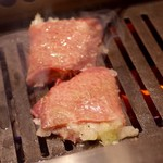 焼肉JIN - 炙ネギタン塩1,380円