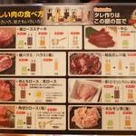 焼肉JIN - お肉の食べ方