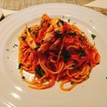 イル・カヴァロ - 渡り蟹のトマトクリームソース