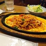 K - 料理写真:Aスパゲッティーセット(イタリアン)