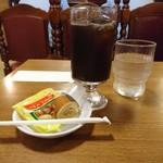 K - セットのお飲み物(アイスコーヒー)