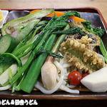 長寿庵 - 野菜3倍だぁ~