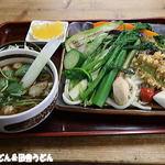 長寿庵 - 野菜3倍 肉汁せいろ