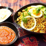 南インド家庭料理 インダスレイ - ビリヤニセット(^∀^)ノ