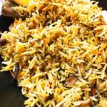 南インド家庭料理 インダスレイ - 現地のお米だな(^_^)b