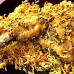 南インド家庭料理 インダスレイ - どーん!(>_<)