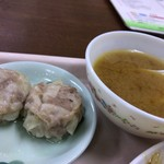 中華大千居 - 野菜と肉炒めセット