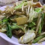 中華大千居 - 野菜と肉炒め アップ