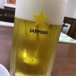 中華大千居 - 生ビール