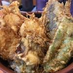 天ぷら 豊野 - ホタテ天丼