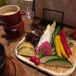 ワインノルイスケ - 旬野菜のバーニャカウダ