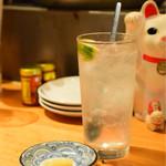 おじんじょ - 瀬戸田のレモン塩 de 酎@480円+税