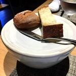 グリシーヌ - フォカッチャとクリのパン