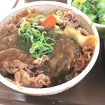 すき家  - カレー南蛮牛丼