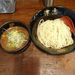 らーめん 津志 - 魚介味噌つけ麺