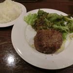 肉の罠 - 塩ハンバーグ970円