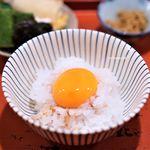 祇園 大渡 - 卵かけご飯