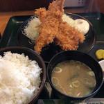 とんかつ こころ - 穴子フライ定食