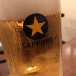 武田屋 - 生ビール