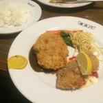 ネスパ - ミンチカツ&白身魚のフライ