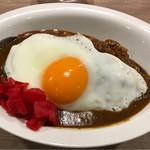 74286666 - 辛来飯(からいらいす)つん蒲                       つん蒲は普通サイズ。想像以上に奥深い味わい。                       ごそっとした男のカレー(^^)