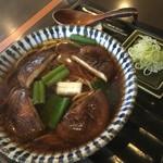 蕎麦屋 此花 - 椎茸(温)960円