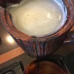 蕎麦屋 此花 - 白濁した蕎麦湯はたっぷり♪
