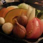 74289099 - スキレットで食べるごろごろ野菜